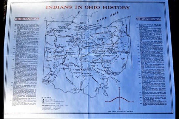 Indians of Ohio Map