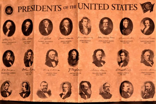 Presidents of the United States on Parchment